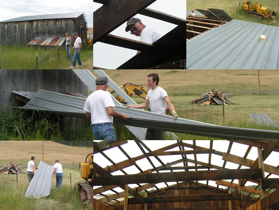 Epic Barn Project Removing Roof