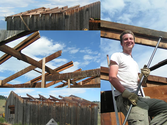 Roofless Epic Barn Project