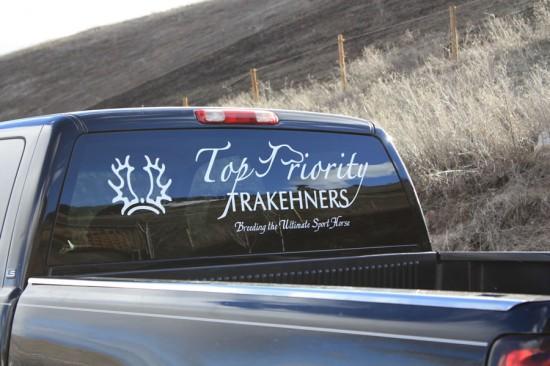 Trakehner Logo Truck